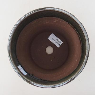 Ceramiczna miska bonsai 14,5 x 14,5 x 17 cm, kolor zielony - 3