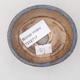 Ceramiczna miska bonsai 7,5 x 6,5 x 3,5 cm, kolor niebieski - 3/3