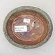 Ceramiczna miska bonsai 14 x 12 x 3,5 cm, kolor zielony - 3/3