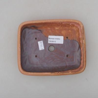 Ceramiczna miska bonsai 16 x 13 x 3 cm, kolor różowy - 3