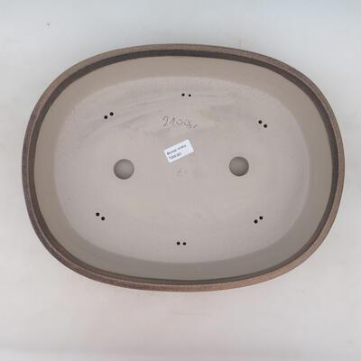 Miska Bonsai 41 x 31 x 9,5 cm, kolor beżowy - 3