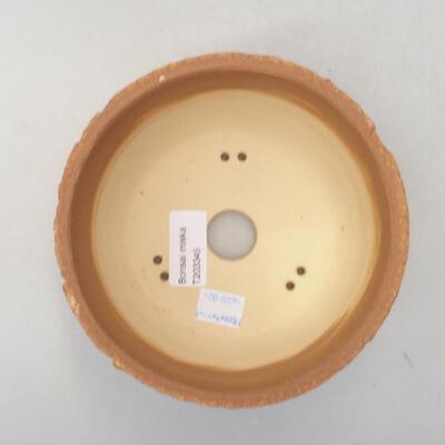 Ceramiczna miska bonsai 14 x 14 x 8,5 cm, kolor spękany - 3