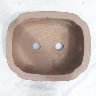 Miska Bonsai 31 x 25 x 11 cm, kolor szary - 3