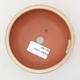Ceramiczna miska bonsai 10,5 x 10,5 x 4 cm, kolor beżowy - 3/3