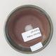 Ceramiczna miska bonsai 9 x 9 x 4 cm, kolor zielony - 3/3