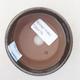 Ceramiczna miska bonsai 8 x 8 x 3,5 cm, kolor zielony - 3/3