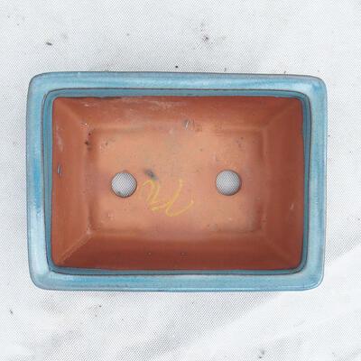 Miska Bonsai 21 x 15 x 7 cm, kolor niebieski - 3