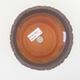 Ceramiczna miska bonsai 13 x 13 x 10,5 cm, kolor szary - 3/3