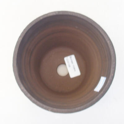 Ceramiczna miska bonsai 14 x 14 x 13 cm, kolor szary - 3