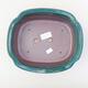 Ceramiczna miska bonsai 23 x 20 x 7 cm, kolor zielony - 3/3
