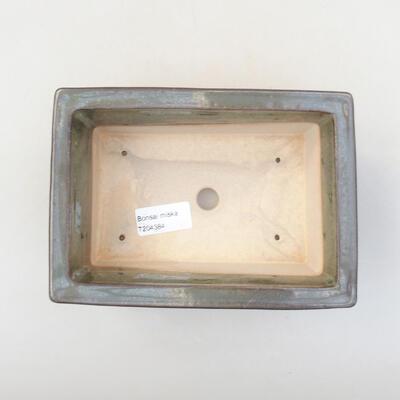 Ceramiczna miska bonsai 18 x 13 x 7 cm, kolor zielony - 3