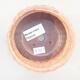 Ceramiczna miska bonsai 10,5 x 10,5 x 4,5 cm, kolor różowy - 3/3