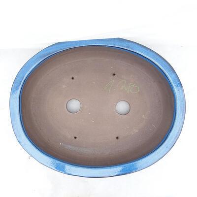 Miska Bonsai 51 x 41 x 10 cm, kolor niebieski - 3