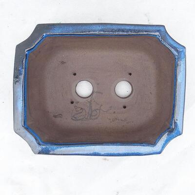 Miska Bonsai 24 x 19 x 8,5 cm, kolor niebieski - 3