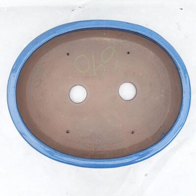 Miska Bonsai 43 x 35 x 6 cm, kolor niebieski - 3