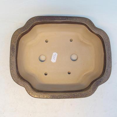 Bonsai ceramiczne miseczki cej 53, brązowy - 3