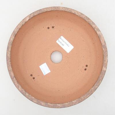 Ceramiczna miska bonsai 20 x 20 x 5 cm, kolor brązowy - 3