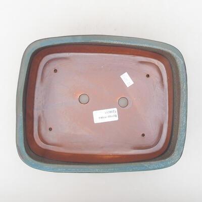 Ceramiczna miska bonsai 24 x 19 x 7 cm, kolor szary - 3