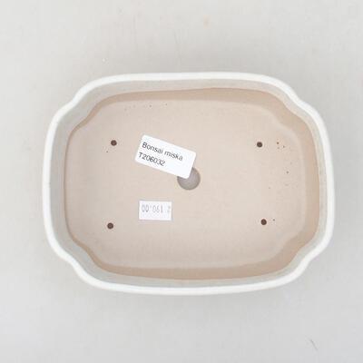 Ceramiczna miska bonsai 17,5 x 13,5 x 5 cm, kolor beżowy - 3