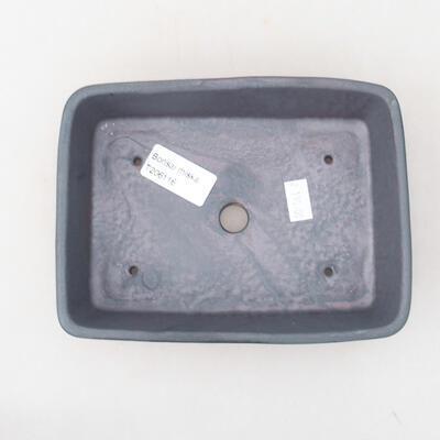 Ceramiczna miska bonsai 17 x 13 x 4,5 cm, kolor metalowy - 3