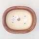 Ceramiczna miska bonsai 14 x 11 x 5 cm, kolor brązowy - 3/3