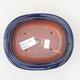 Ceramiczna miska bonsai 14 x 11 x 5 cm, kolor niebieski - 3/3