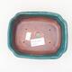 Ceramiczna miska bonsai 15 x 12 x 4 cm, kolor zielony - 3/3