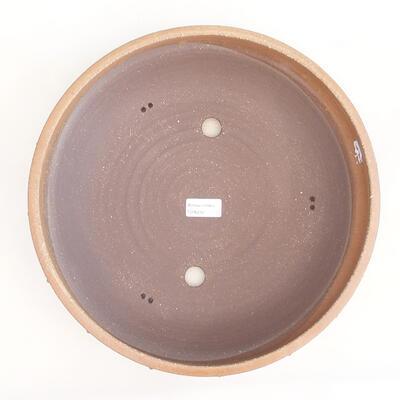 Ceramiczna miska bonsai 33,5 x 33,5 x 8 cm, kolor beżowy - 3