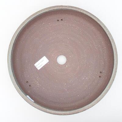 Ceramiczna miska bonsai 27 x 27 x 6 cm, kolor szary - 3