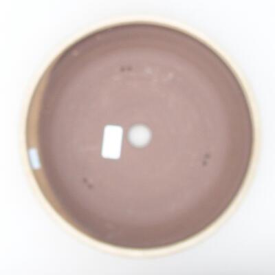 Ceramiczna miska bonsai 28 x 28 x 7 cm, kolor beżowy - 3