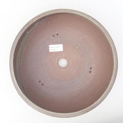Ceramiczna miska bonsai 25 x 25 x 8 cm, kolor szary - 3