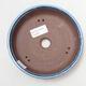 Ceramiczna miska bonsai 15,5 x 15,5 x 4 cm, kolor niebieski - 3/3
