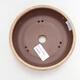 Ceramiczna miska bonsai 14 x 14 x 4 cm, kolor beżowy - 3/3