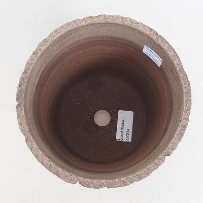 Ceramiczna miska bonsai 15 x 15 x 17 cm, kolor spękany - 3