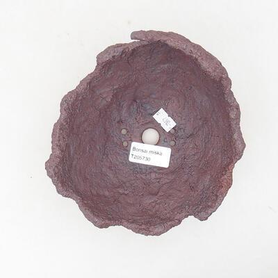 Ceramiczna powłoka 14 x 14 x 15 cm, kolor szary - 3