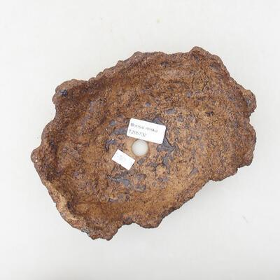 Ceramiczna skorupa 16 x 13 x 8 cm, kolor szary - 3
