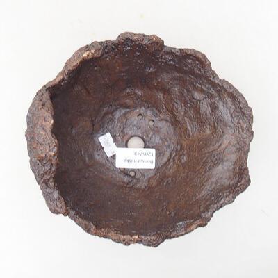 Ceramiczna skorupa 17 x 15 x 15 cm, kolor szary - 3