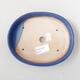 Ceramiczna miska bonsai 17 x 13,5 x 3,5 cm, kolor niebieski - 3/3