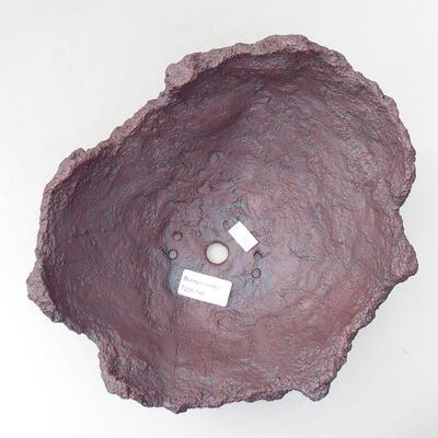 Ceramiczna skorupa 21 x 20 x 16 cm, kolor szary - 3