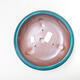 Ceramiczna miska bonsai 21 x 21 x 7 cm, kolor zielony - 3/3