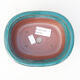 Ceramiczna miska bonsai 14 x 11 x 5,5 cm, kolor zielony - 3/3