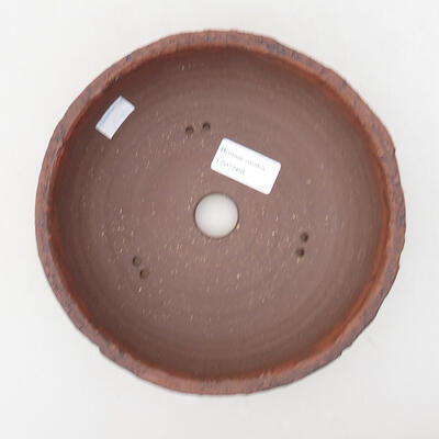 Ceramiczna miska bonsai 18,5 x 18,5 x 7 cm, kolor spękany - 3