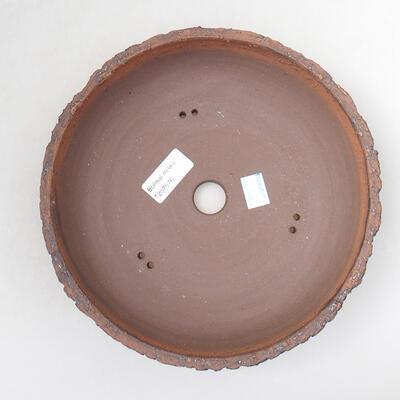 Ceramiczna miska bonsai 22 x 22 x 6 cm, kolor spękany - 3