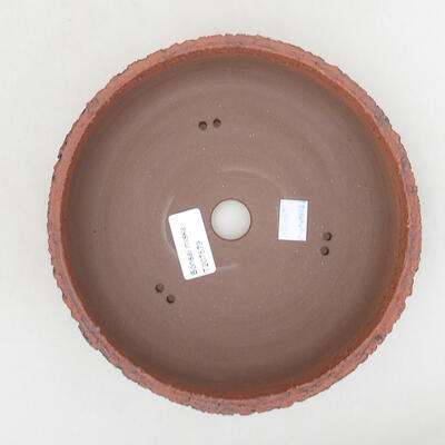 Ceramiczna miska bonsai 19,5 x 19,5 x 6 cm, kolor spękany - 3