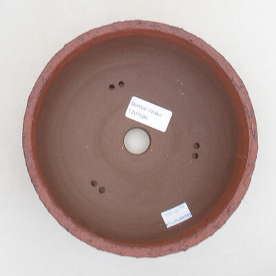 Ceramiczna miska bonsai 18 x 18 x 7 cm, kolor spękany - 3