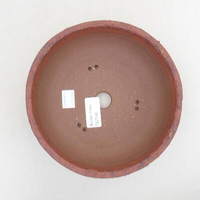 Ceramiczna miska bonsai 18 x 18 x 6,5 cm, kolor spękany - 3