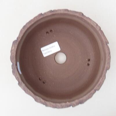 Ceramiczna miska bonsai 17 x 17 x 8 cm, kolor spękany - 3