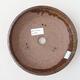 Ceramiczna miska bonsai 19 x 19 x 5 cm, kolor brązowy - 3/3