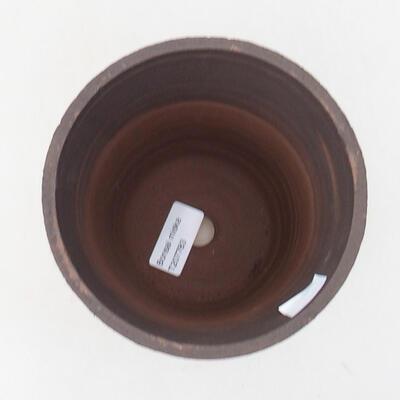 Ceramiczna miska bonsai 13,5 x 13,5 x 15,5 cm, kolor spękany - 3