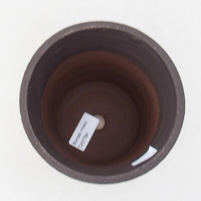 Ceramiczna miska bonsai 13,5 x 13,5 x 15 cm, kolor spękany - 3